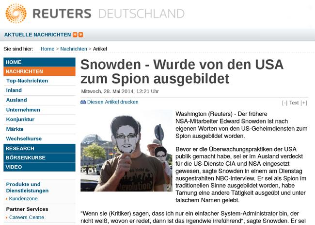 Snowden Shirt